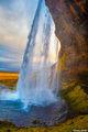 Seljalandsfoss Waterfall print