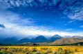 Mountain Cloud Scene print