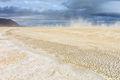 black rock desert, playa, nevada sandstorm