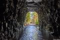 south carolina, stumphouse tunnel. railroad