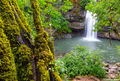 potem falls, thick moss, shasta county, northern california