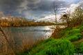 Thunderstorm Along American River