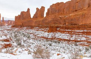 Park Avenue Arches Snow