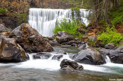 McCloud River Middle Falls