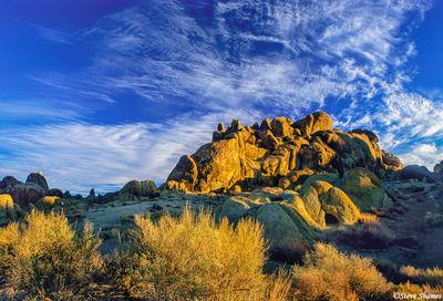 alabama hills, california, rock formations