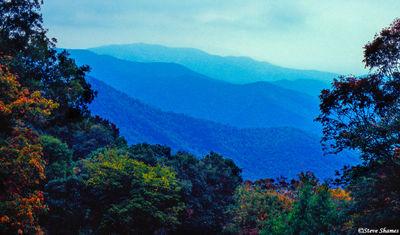 appalachian mountains, blue ridges, shenandoah national park, virginia