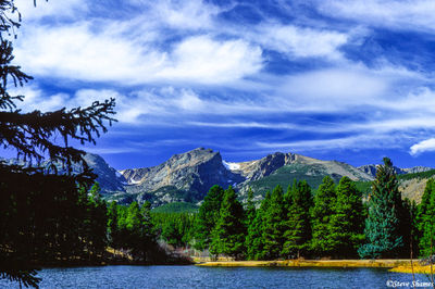 rocky mountain national park, colorado, bear lake