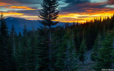 Black Butte Sunset