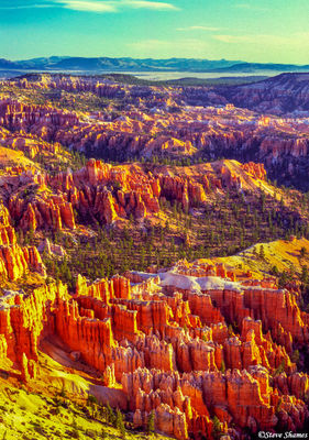 bryce canyon colors, national park, utah