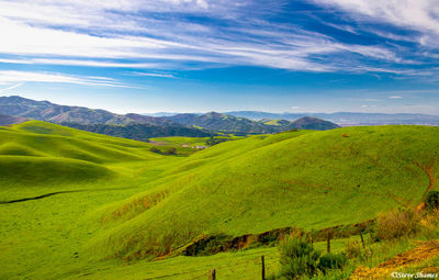 california rolling hills, coastal range, monterey county