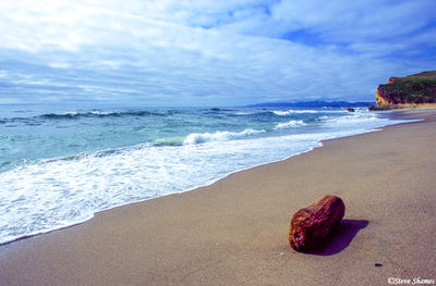 sonoma county, california beach