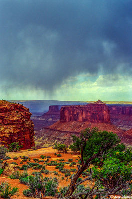 canyonlands, utah, dramatic sky