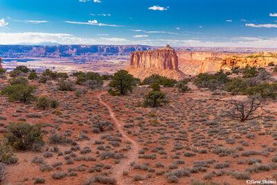 butte, canyonlands, national park, utah