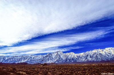 lone pine, california mountains, atmospherics