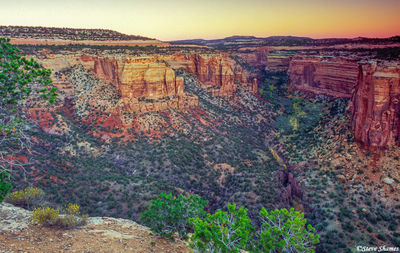 colorado national monument, before sunrise