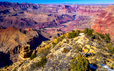 grand canyon, national park, colorado river