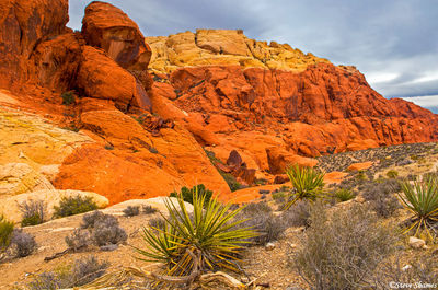 red rock canyon, nevada, colorful rocks