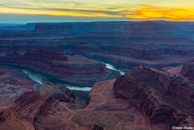 dead horse point, lookout, state park, canyonlands