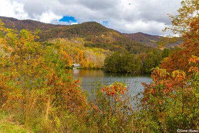 north georgia mountains, lake