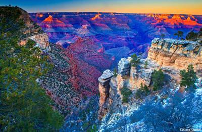 grand canyon, national park, sunrise, sunset, arizona