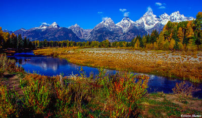 grand teton national park, wyoming, mountain ranges