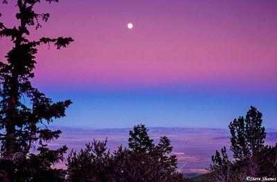 nevada, great basin national park, sun set