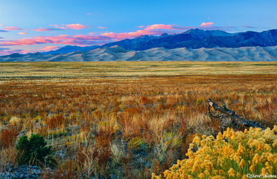 great sand dunes, sunset, national park, colorado