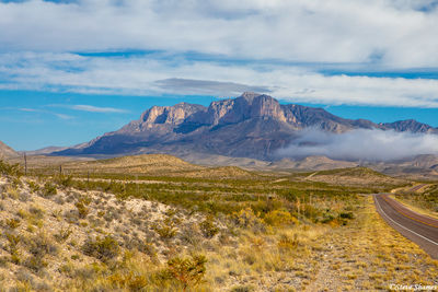 highway 54, west texas, guadalupe mountains