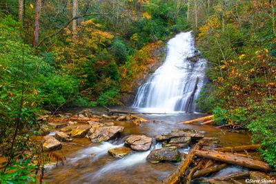 helton creek falls, waterfalls, north georgia mountains