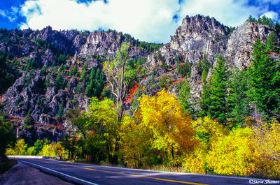 logan canyon, utah, highway 89