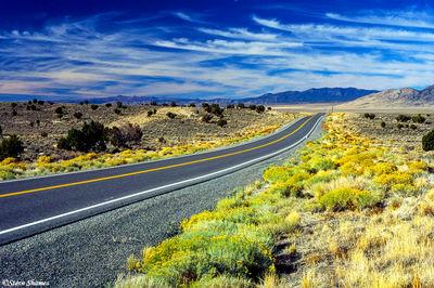 highway 50, nevada, loneliest road in america