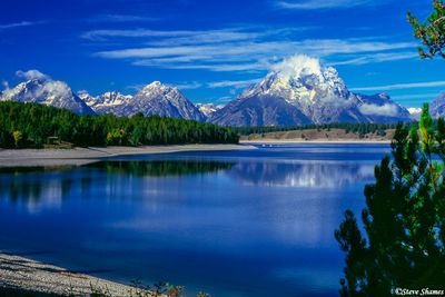 grand tetons, national park, wyoming, jackson lake