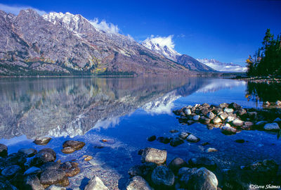 grand tetons, national park, wyoming, jenny lake, reflection