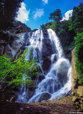kings canyon, national park, beautiful waterfall