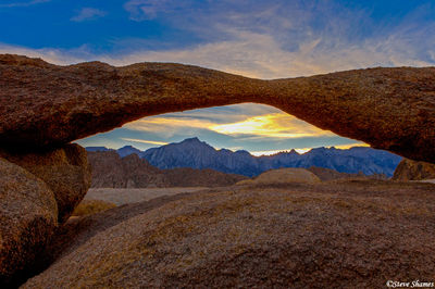 alabama hills, owens valley, california, lathe arch