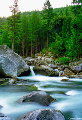 yosemite national park, merced river, flowing