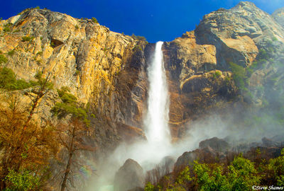 yosemite national park, waterfall