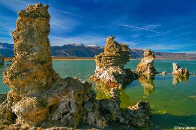 mono lake, california, tufas