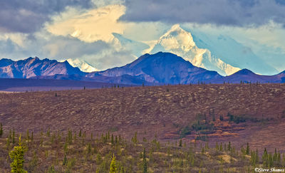 denali national park, alaska, highest peak