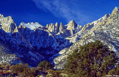 lone pine, eastern california, whitney portal road
