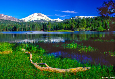 active volcano, mount lassen, national park, california