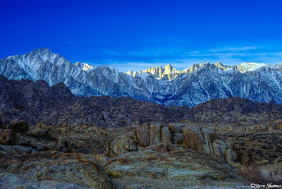alabama hills, california, mt. whitney, highest point