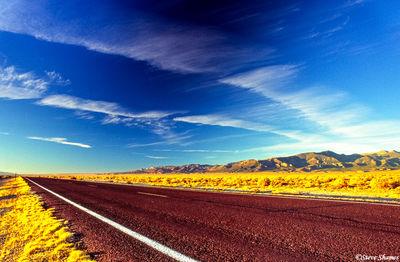 baker nevada, highway 159, great sky