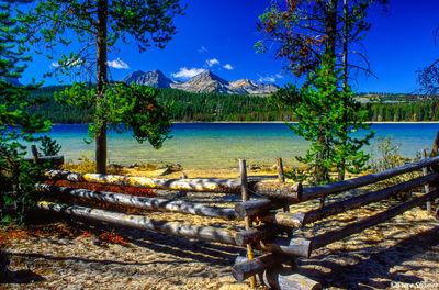 redfish lake, idaho, sawtooth wilderness area