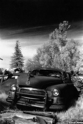 rio linda, california, junked car