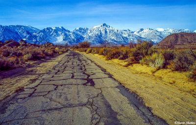 lone pine, eastern california, sierras