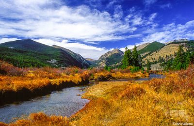 rocky mountain national park, colorado, creek