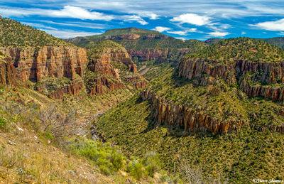 salt river canyon, scenic arizona