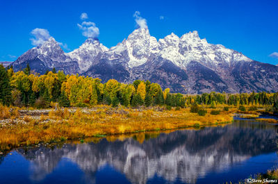 grand tetons, national park, wyoming, schwabacher landing