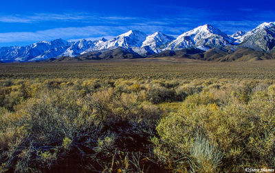 owens valley, eastern califoria, mountain scenes, highway 395